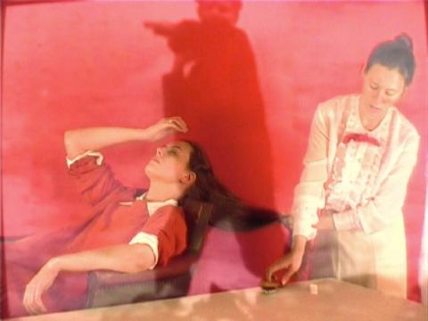 Marta de Gonzalo y Publio Pérez en el Centro de Arte de Mataró